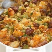 Andouille Sausage & Corn Bread Stuffing