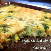 Magic Chicken and Biscuit Casserole