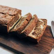 Easy Cream Cheese-Filled Banana Bread