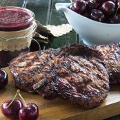 15-Minute Homemade Cherry Barbecue Sauce for Grilled Chicken or Pork
