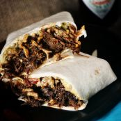 Slow Cooker Chipotle  Beef Filling