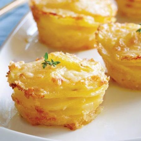 Baked Mini Potato Galettes