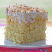 Hawaiian Coconut Cake