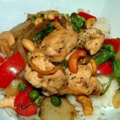 Chipotle Cashew Chicken
