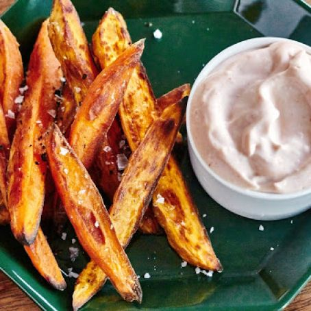 Crispy Roasted Sweet Potato Fries