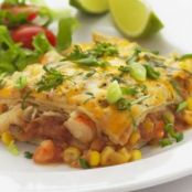 WW Shrimp Enchilada Casserole Recipe