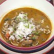 Seafood Gumbo with Coconut Milk