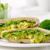 Egg Salad with Pita