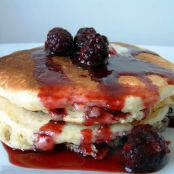Buttermilk Pancakes with Fresh Berries