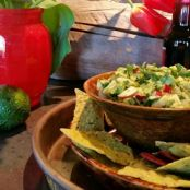 APPLE AND AVOCADO SALSA WITH HONEY-LIME DRESSING