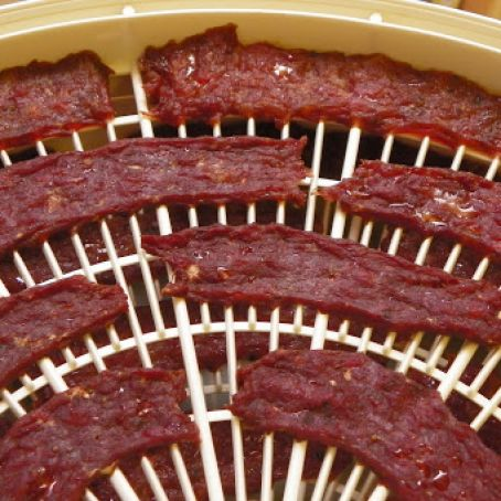 Beef Jerky Made with a Dehydrator