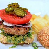 Asian Burger with Savoy Cabbage