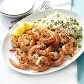 Tarragon Shrimp with Easiest-Ever Risotto