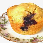 Blackberry & Corn Muffins