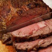 Simple Roast Beef with Horseradish Cream