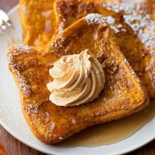 Pumpkin French Toast with Pumpkin Butter