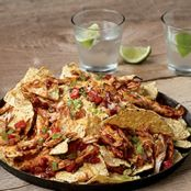 BBQ Turkey Nachos