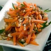 Marsala Glazed Carrots