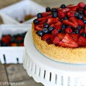 Triple Berry Cheesecake