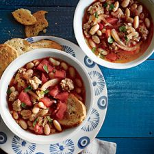 White Bean, Sage, and Sausage Soup