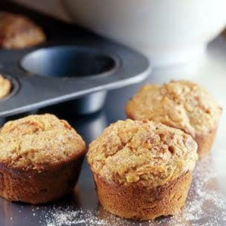 Carrot-Apple-Nut Muffins