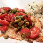 #KIphotocontest - Tilapia with Warm Olive Salsa