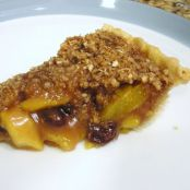Apricot-Mango Pie with Streusel Topping