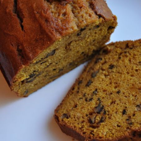 Walnut-Pumpkin Bread