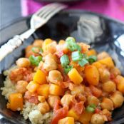 Quinoa & Butternut Squash with Coconut Milk