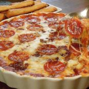 Pizza Dip, Four Layer