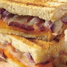 Cheese & Bacon, Grilled Sandwiches