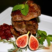 Rosemary Mint Lamb Chops with Seasonal Fig Compote
