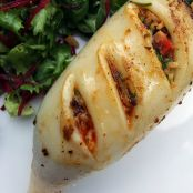 SQUID - Chorizo Stuffed Squid