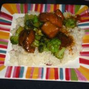 Slow Cooker Chinese Lemon Chicken with Broccoli