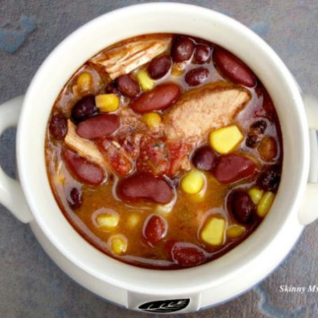 Image result for Slow Cooker Fiesta Chicken Soup