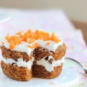 5 Minute Carrot Cake for One