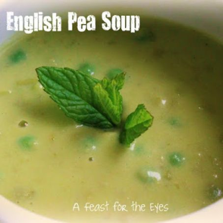 Spring English Pea & Tarragon Soup