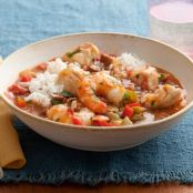 Spicy Cajun Seafood Stew