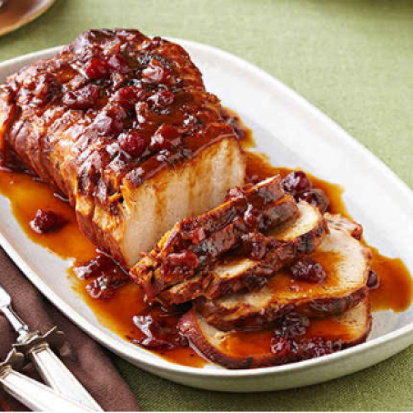 Slow Cooker Orange Cranberry Pork
