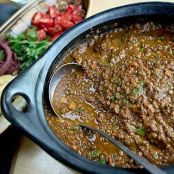 LENTIL STEW WITH CUMIN AND POMEGRANATE MOLASSES