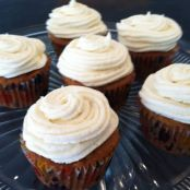 Dark and Stormy Apple Cupcakes