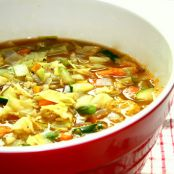 Cajun Cabbage Soup