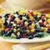 Black Bean and Bell Pepper Salad