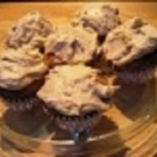 Apple Brown Sugar Cinnamon Cream Cheese Cupcakes with Brown Sugar Cinnamon Cream Cheese Icing