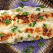 Asparagus & Chicken Enchiladas