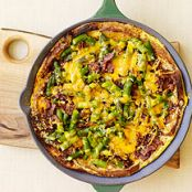 Asparagus, Bacon and Cheese Strata W. W. Points Plus 5