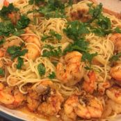 Spicy Creole Shrimp with Pasta