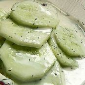 Cucumber Salad with Mayo