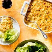 Cauliflower Mac 'N' Cheese Casserole