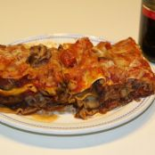 Caramelized Onion and Mushroom Lasagna